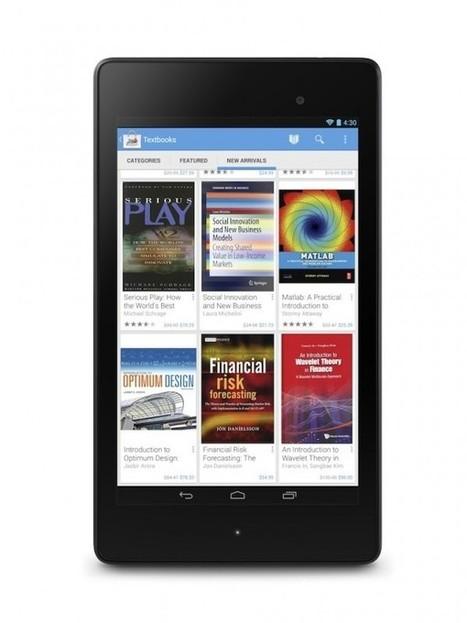 Google Play añade libros de textos digitales para la venta y alquiler | Recull diari | Scoop.it