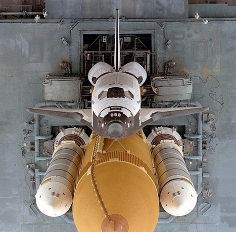 Looking Directly Down At STS 79 Space Shuttle Atlantis Florida | Awesome Photography | Scoop.it
