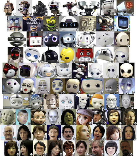 Into the uncanny valley: 80 robot faces ranked by creepiness | Communication design | Scoop.it