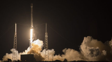 SpaceX successfully launches JCSat-14 and lands rocket first stage on drone ship | SpaceNews.com | The NewSpace Daily | Scoop.it