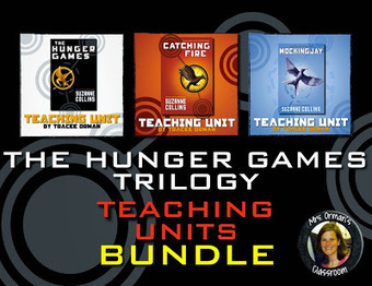 Hunger Games Lessons: The Hunger Games Trilogy Novel Units Bundle | Hunger Games Teaching Resources | Scoop.it