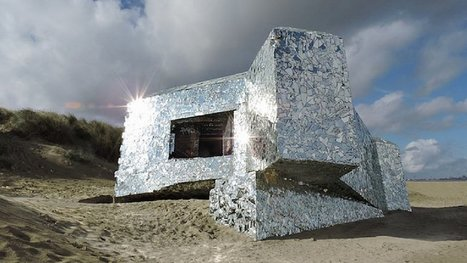 Couvert de miroirs par un inconnu, ce bunker de Dunkerque reste un mystère... | The Blog's Revue by OlivierSC | Scoop.it