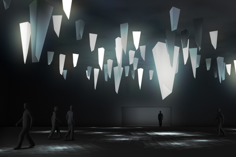 Triangular Series: a site-specific lighting installation for Design Miami/ Basel | whatever | Scoop.it
