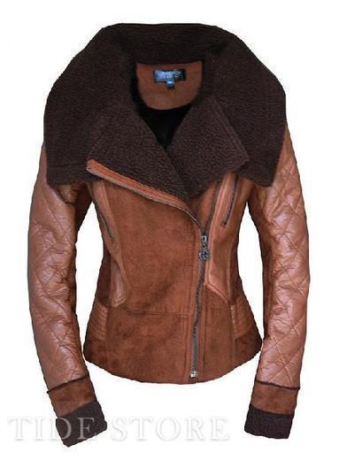 European Style Stylish Suede Warm Long Sleeve Women Jacket   Dresses   Scoop.it