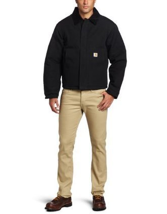 $@$  J02 Carhartt Mens Duck Active Jacket, Black, 50/Regular Carhartt Black   Discount Jackets Coats for Men   Scoop.it