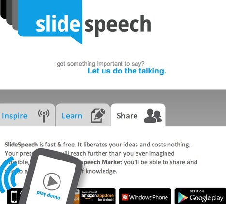 SlideSpeech, presentations with voice | Assistive Technology in Education | Scoop.it
