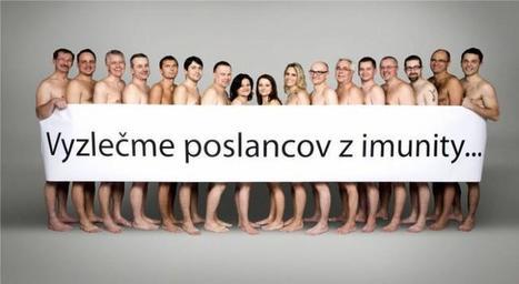 Pour faire évoluer la loi, des élus slovaques se déshabillent | Union Européenne, une construction dans la tourmente | Scoop.it