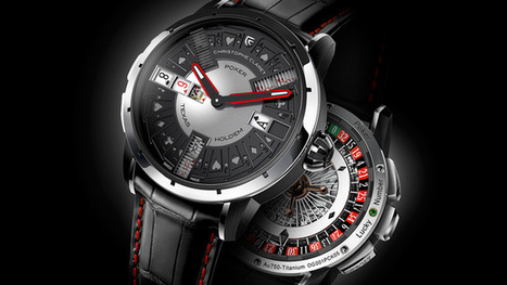 Christophe Claret's Latest Watch Lets You Kill Time By Playing Poker | Web Design, Pictures and Space. | Scoop.it