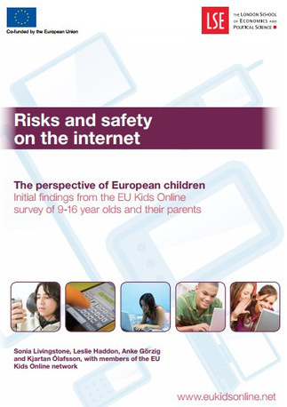 The key findings of the EU kids survey on risks and safety on the ...   Eu Kids Online   Scoop.it