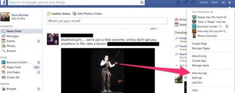 Si vous avez des choses à cacher... Comment effacer vos recherches sur Facebook ? | brave new world | Scoop.it