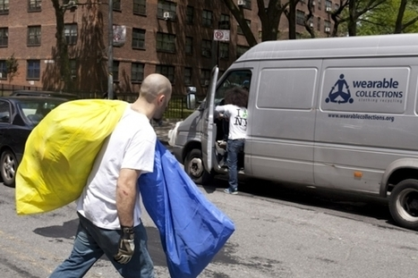 Wearable Collections | Clothing Recycling in NYC | The Future of Waste | Scoop.it