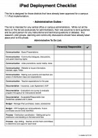 K-12 iPad Deployment Checklist | iPad for School Administrators | Scoop.it