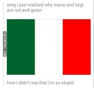 Mario and Luigi color explanation | The Filmtroll | Scoop.it
