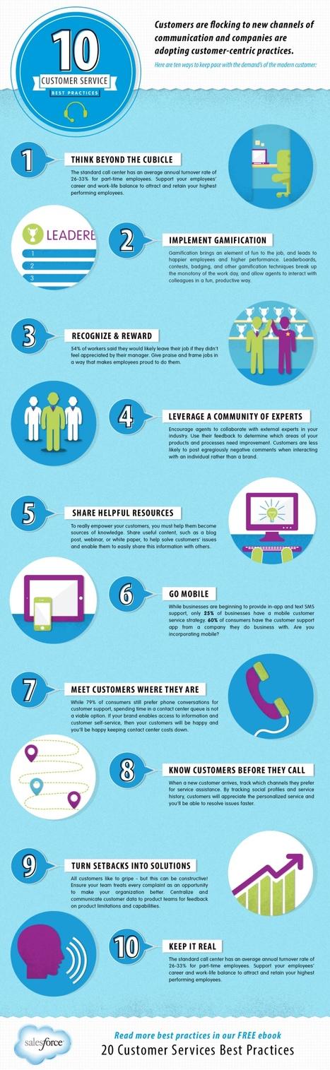 10 Best Practices to Improve Customer Service [INFOGRAPHIC]   Customer Service   Scoop.it