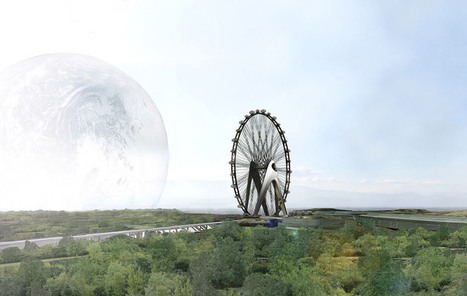 UNstudio envision nippon moon giant observation wheel, japan - designboom | architecture & design magazine | ARCHIresource | Scoop.it