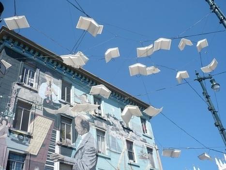 Le street art se met à la page pour des déambulations littéraires   idées graphiques   Scoop.it
