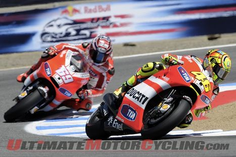 Ultimate Motorcycling | Ducati's Rossi & Hayden: Best 2011 Pics | Ductalk Ducati News | Scoop.it