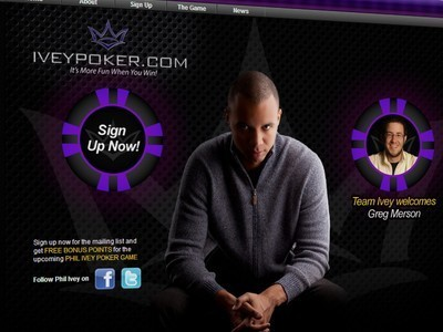 Phil Ivey Launches New Social Media Poker Site | Pokerfuse | Hit by the deck | Scoop.it