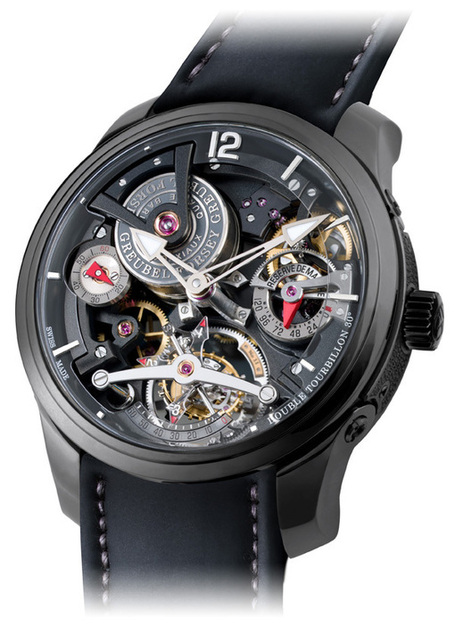 Greubel Forsey Double Tourbillon Technique Black | Montre, Horlogerie,Chronos | Scoop.it