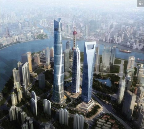 Shanghai Tower: Gensler's Savvy City In The Sky   The Architecture of the City   Scoop.it
