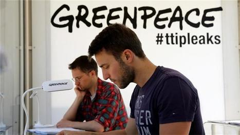 Trade deal TTIP faces scrutiny after Greenpeace leak | Public-Private Duality, Economic Crisis, and New Financial Trends | Scoop.it