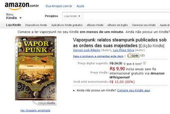 Trëma: [Press-release] Promoção Vaporpunk | Ficção científica literária | Scoop.it