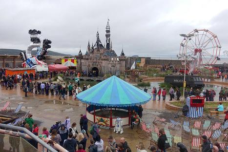 Bienvenue à Dismaland, le parc d'attraction délirant de Banksy | Clic France | Scoop.it