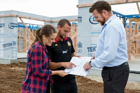 Aaron Cruden's Generation Home Takes Shape   Home builders in New Zealand   Generation Homes   Scoop.it