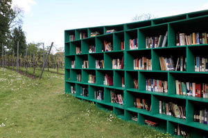 The Bookyard: An Outdoor Public Library by Massimo Bartolini | Alternative Library Spaces, Projects, Initiatives | Scoop.it
