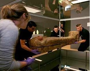 Una exposición muestra en A Coruña dos sarcófagos del antiguo Egipto   Égypt-actus   Scoop.it