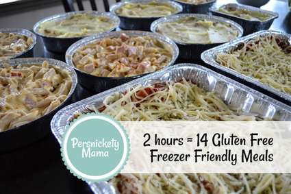 2 hours = 14 Gluten Free Freezer Friendly Family Meals | Fire in the Kitchen! (gluten and corn free) | Scoop.it