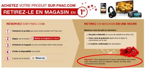 FNAC: 33% des ventes retirées en magasin amènent des achats supplémentaires | Cross Canal | Scoop.it