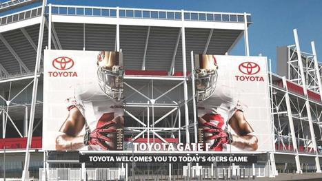 Toyota, San Francisco 49ers ink Levi's Stadium deal worth millions - Silicon Valley Business Journal | Sports Facility Management | Scoop.it