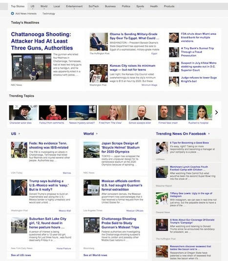 Best Alternatives to Google News That Help You Stay Current | Purposeful Pedagogy | Scoop.it