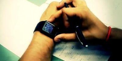 Une montre antisèche pour les examens   Panorama de presse, éducation et formation   Scoop.it