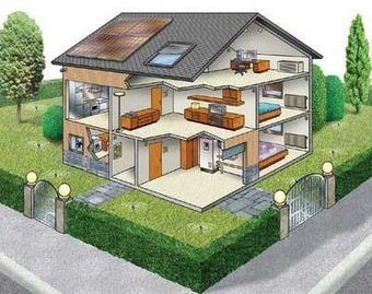 Algunas formas de hacer una casa eficiente y ecológica | AteBur | Scoop.it