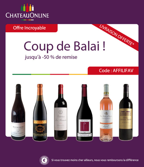Nouveau Code Promo chez ChateauOnline ! - Tout Est Moins Cher   Acheter moins cher   Scoop.it