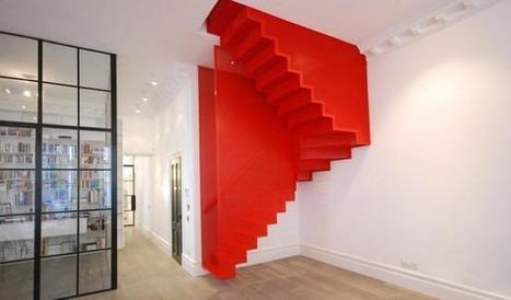 Espectacular escalera colgante de Diapo inspirada en una instalación de la Tate Modern | Cuines | Scoop.it