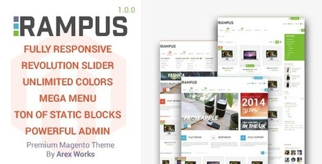 Rampus - Responsive HighTech Magento Theme (Magento) | Magento Shopping Cart development | Scoop.it