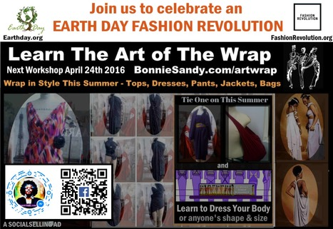 Earth Day Fashion Revolution & Facebook adds #qrcodes @#EarthDay #FashionRevolution & Facebook adds #qrcodes @Facebookcodes to events and pages  | Fashion Technology Designers & Startups | Scoop.it