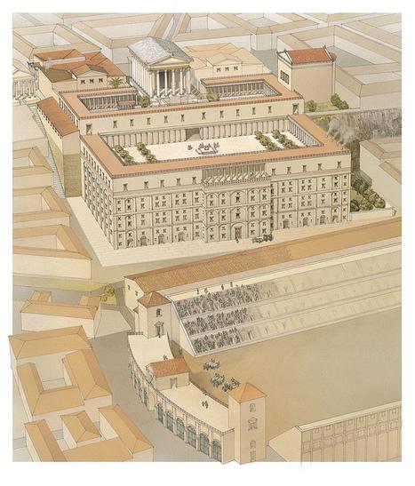 ROMA ARCHEOLOGIA, nn. 07, Roma, Palatino Cermalus, domus Augusti, 36-12 a.C. (tavv. 71, 72). in: A. Carandini & P. Carafa, Atlante di Roma antica (2012).   LVDVS CHIRONIS 3.0   Scoop.it