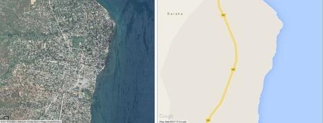 L'Afrique, une «terre inconnue» pour Google Maps | Géopolitique & Cartographie | Scoop.it