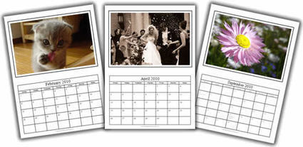 Free Photo Calendar Template in MS (Microsoft) Word Format for 2015, 2016, 2017 | Τάξη 2.0 | Scoop.it