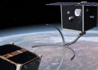 CleanSpace One: un satellite à la chasse aux débris spatiaux - SimplyScience | Débris spatiaux | Scoop.it