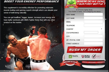 Fighter Body Review - GET FREE TRIAL SUPPLIES LIMITED!!! | How to make stronge your muscle | Scoop.it