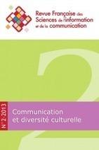 Revue française des sciences de l'information et de la communication | Actualités de la recherche en sciences de l'information et de la communication | Scoop.it