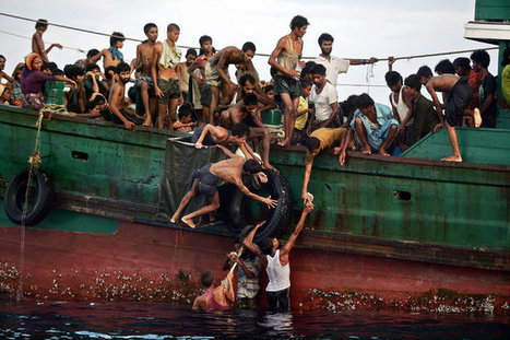 Migrants From Myanmar, Shunned by Malaysia, Are Spotted Adrift in Andaman Sea | AP Human Geography | Scoop.it