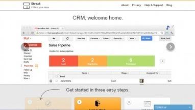 Streak - Gestionar servicios CRM desde una cuenta de Gmail | Gabriel Catalano human being | #INperfeccion® a way to find new insight & perspectives | Scoop.it