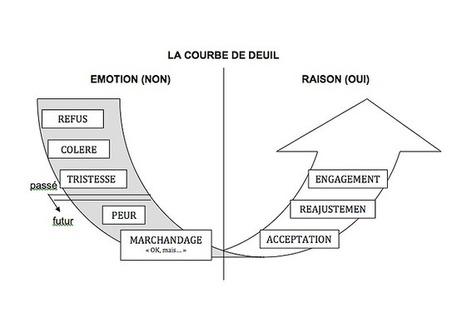 Manager c'est gérer le changement : la courbe de deuil | Entretiens Professionnels | Scoop.it