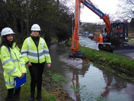 Levelling stream bed will reduce flooding threat to village | Groundwater flooding UK | Scoop.it